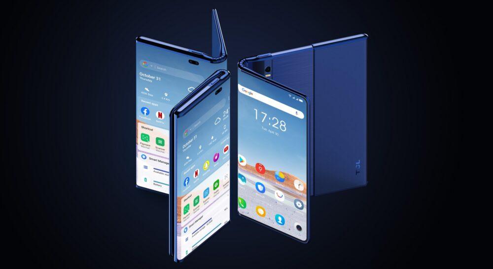 TCL Fold 'n Roll: un smartphone que se dobla y estira hasta llegar a tablet 1