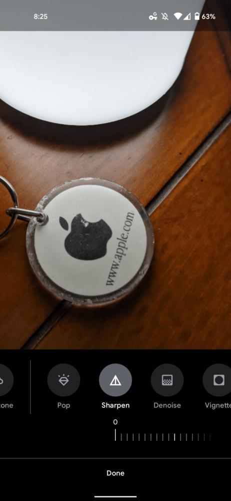 Google Fotos permite añadir nitidez y reducir el ruido de nuestras fotografías 1