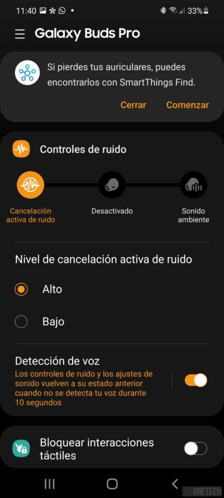 Samsung Galaxy Buds Pro - Análisis a fondo 9