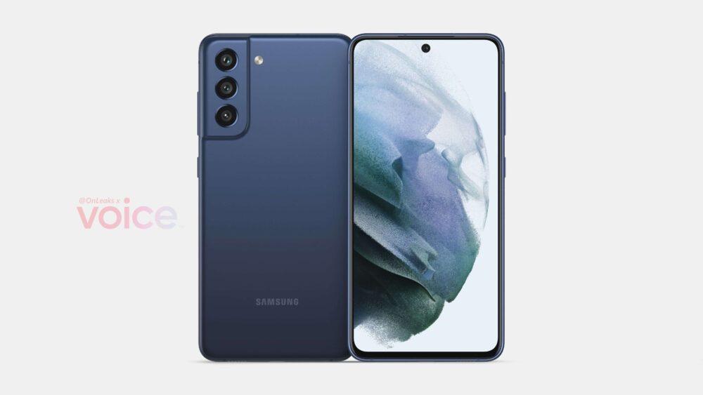 Samsung Galaxy S21 FE, aparecen los primeros rendes que nos lo muestran 1