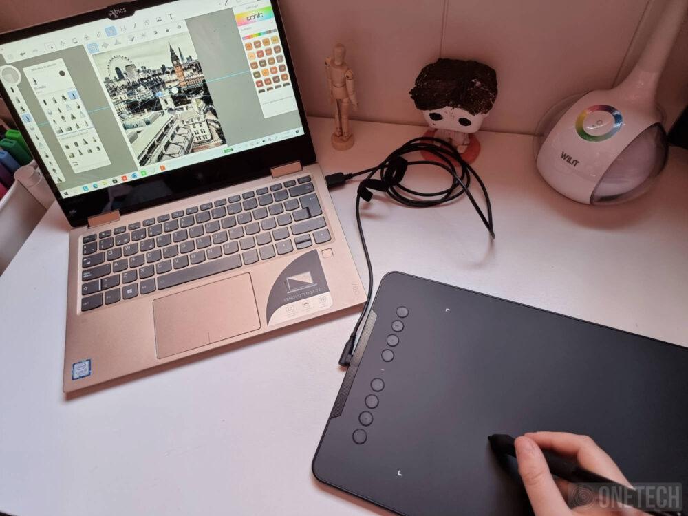 XP-PEN Deco 01 V2, una tableta gráfica con la que sacar el artista que llevas dentro - Análisis 12