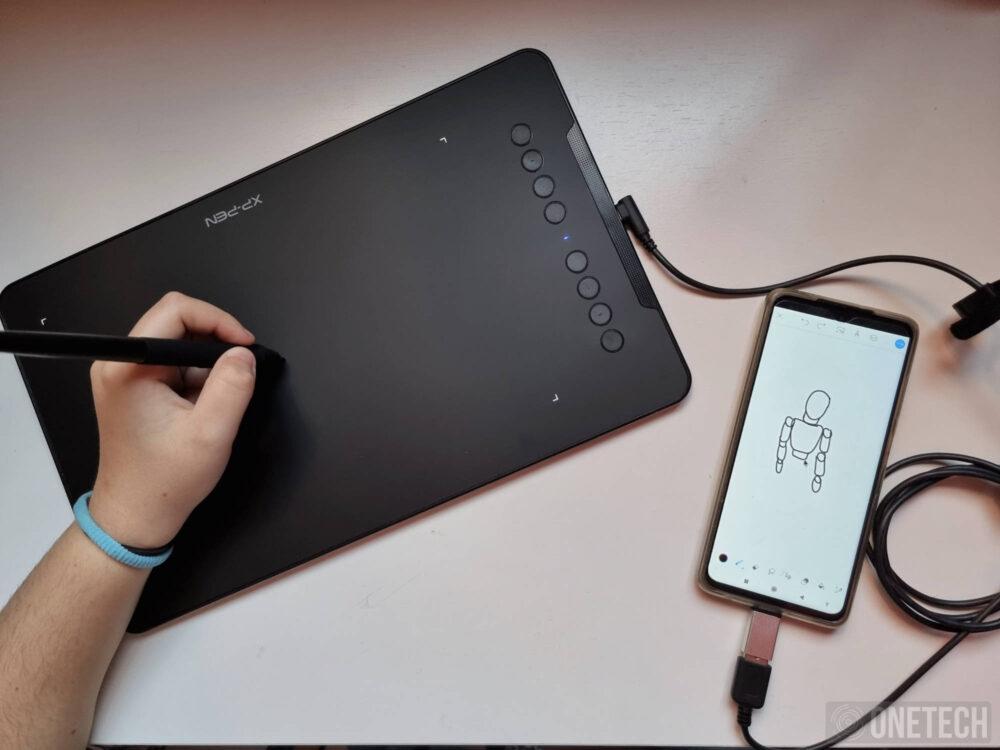 XP-PEN Deco 01 V2, una tableta gráfica con la que sacar el artista que llevas dentro - Análisis 13