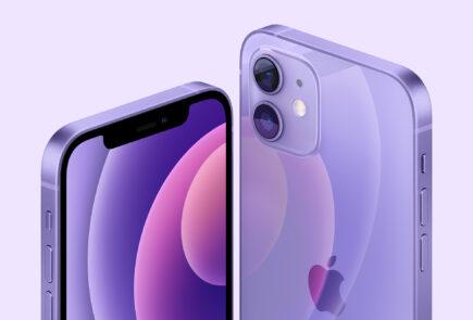 Apple lanza los iPhone 12 y iPhone 12 mini ahora en color púrpura 5