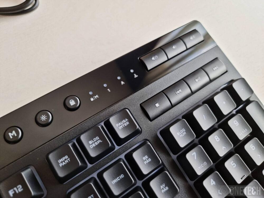 Corsair K55 RGB Pro XT: teclado compatible con Elgato Stream Deck - Análisis 5
