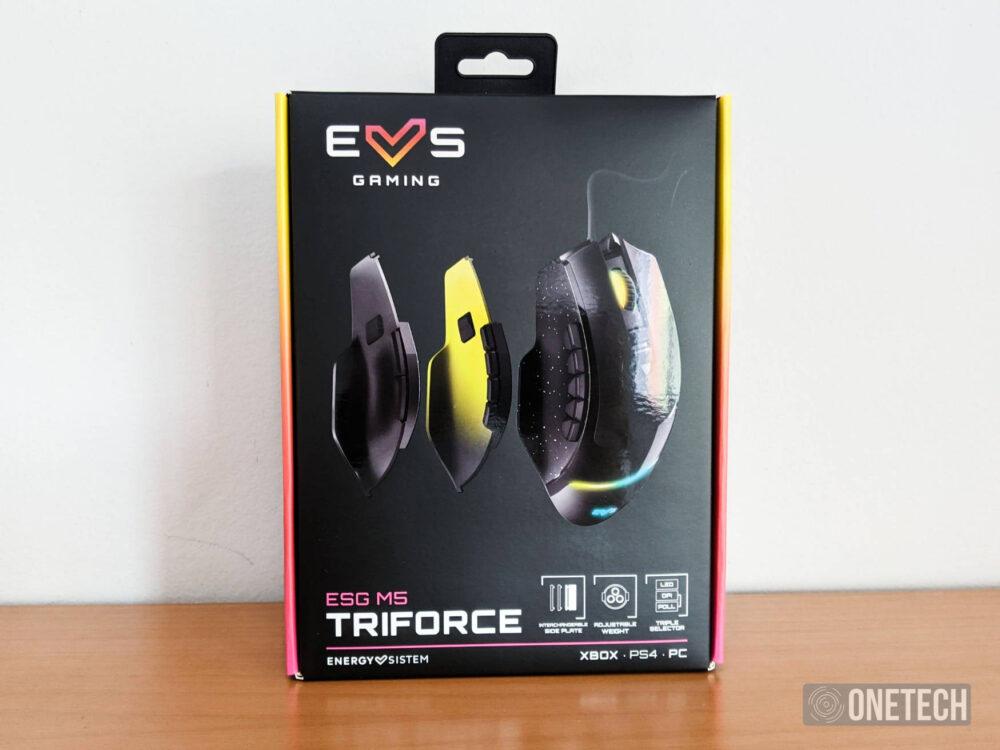 ESG M5 Triforce, el ratón gaming 3 en 1 de Energy Sistem 2