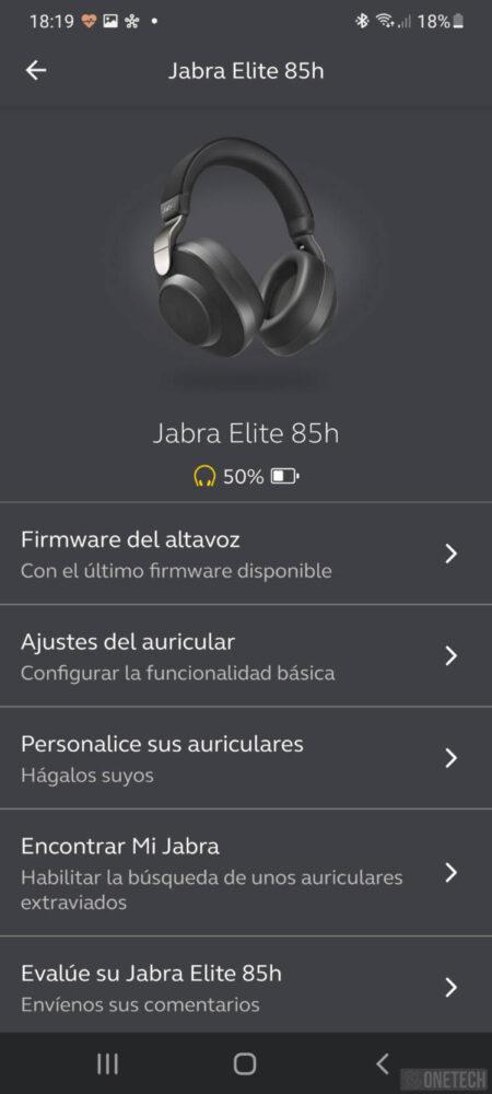 Jabra Elite 85h, auriculares inalámbricos con cancelación de ruido activa - Análisis 9