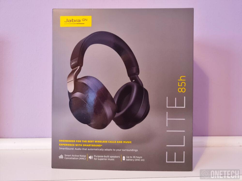 Jabra Elite 85h, auriculares inalámbricos con cancelación de ruido activa - Análisis 1