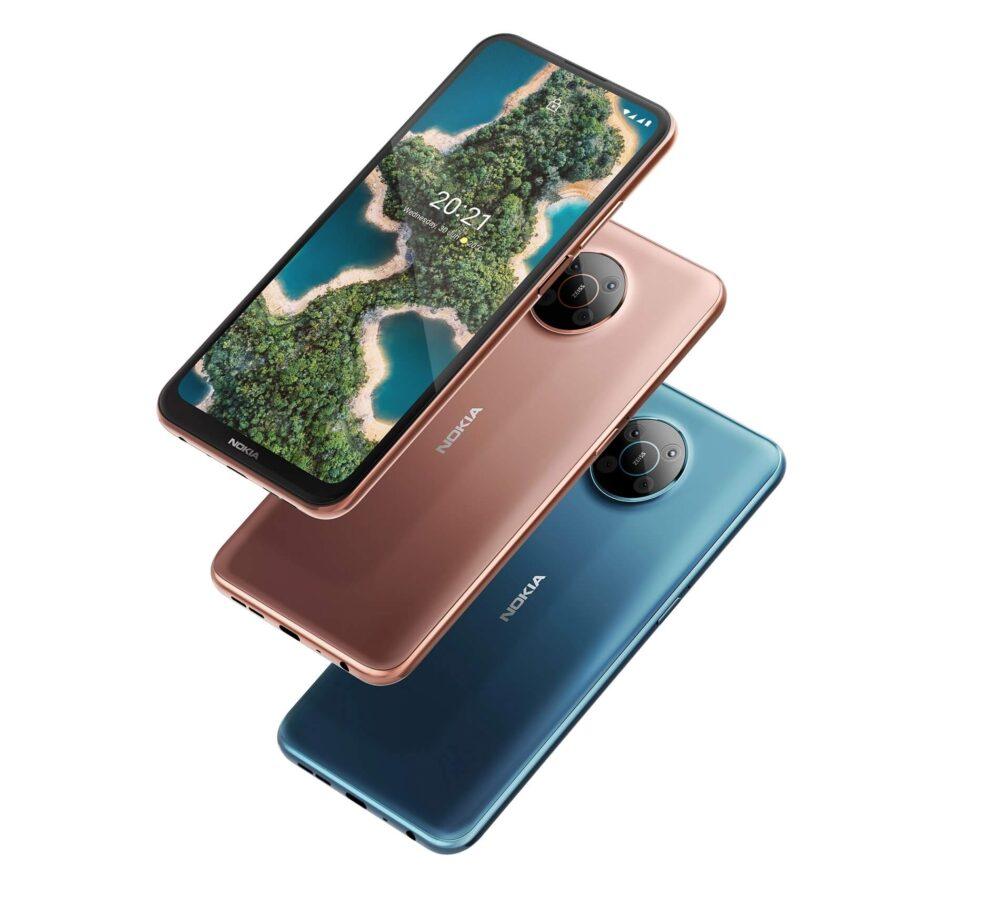 Nuevos Nokia X10 y Nokia X20, una familia 5G a precios económicos 10