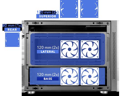 Hummer Vault, la nueva caja Micro-ATX y Mini-ITX de Nox 2