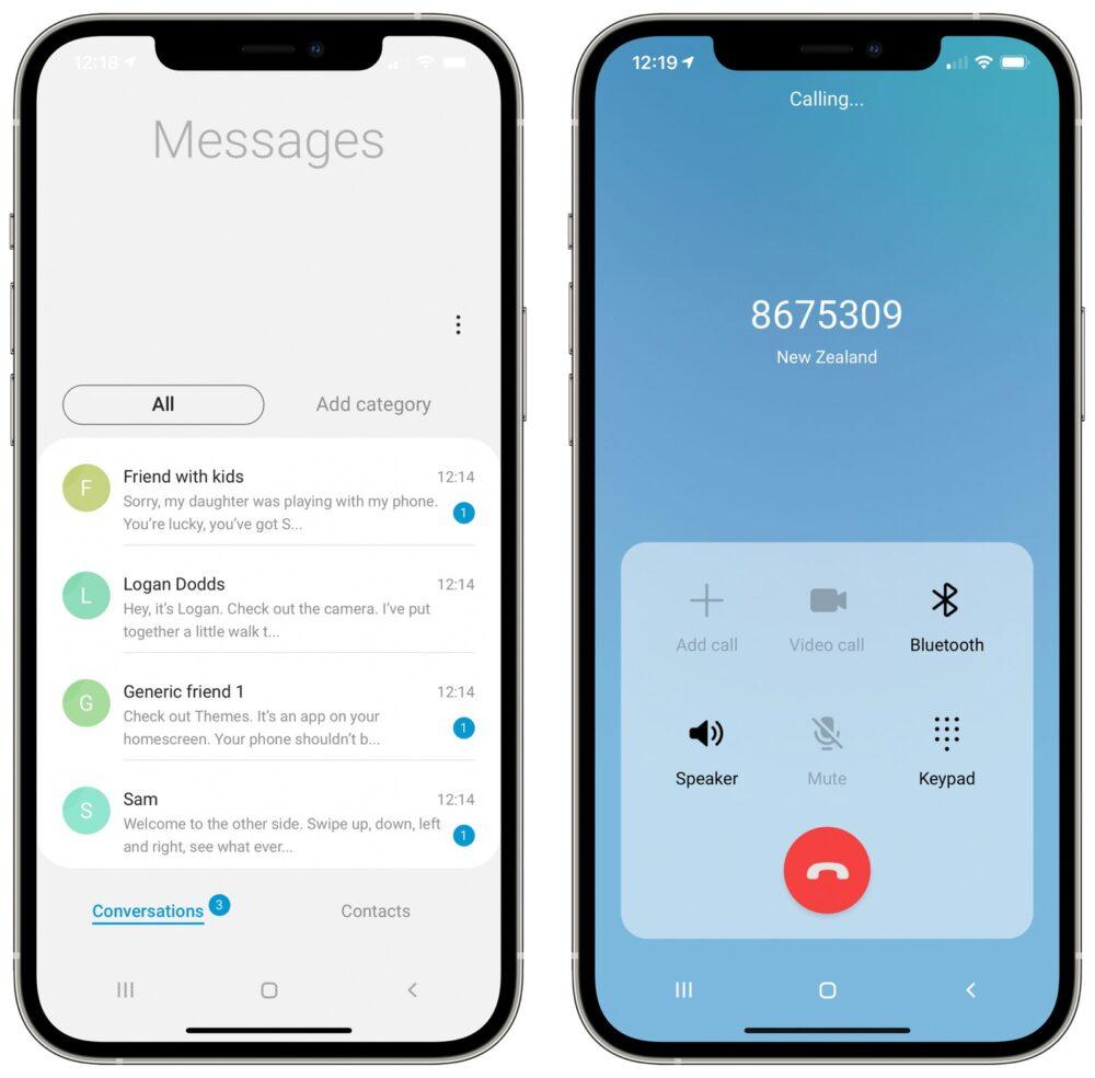 Samsung lanza una web para probar la experiencia Galaxy en tu iPhone