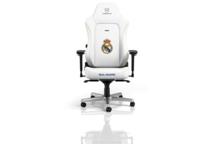 Noblechairs HERO Real Madrid Special Edition, la silla gamer para