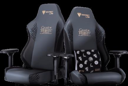 """Secretlab lanza una edición especial de sus sillas dedicadas a """"Juego de Tronos"""" 4"""