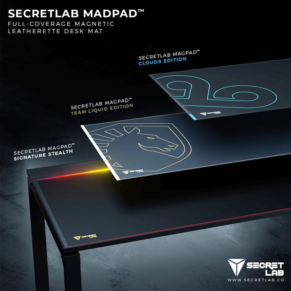 Secretlab apuesta por los escritorios
