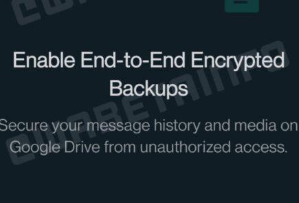 WhatsApp avanza en el cifrado de las copias de seguridad 1