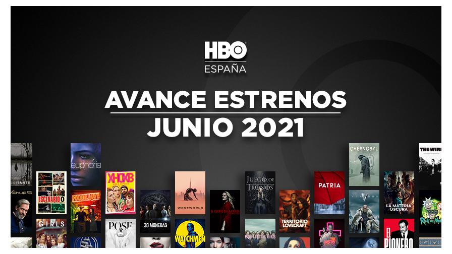 Todos los estrenos de HBO en Junio de 2021