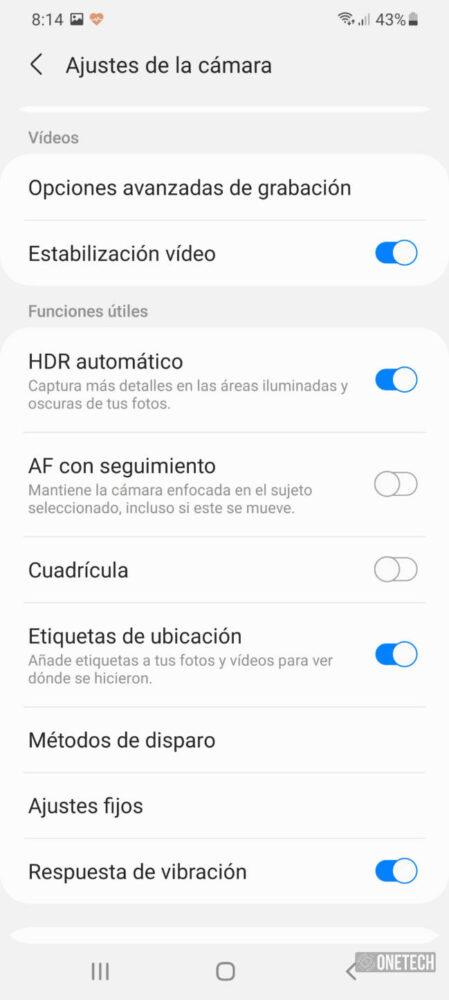 Samsung Galaxy S21 Ultra 5G - Análisis y opinión 53