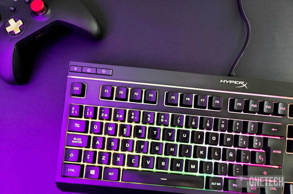 HyperX Alloy Core RGB, un completo teclado gamer por poco dinero - Análisis 10