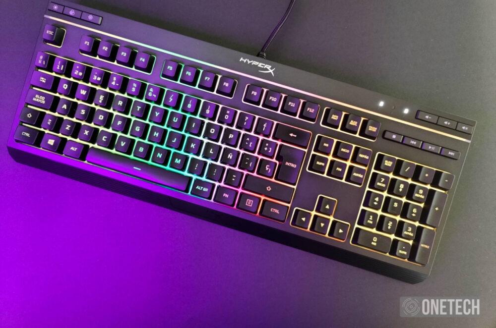 HyperX Alloy Core RGB, un completo teclado gamer por poco dinero - Análisis 9