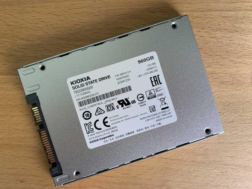 Kioxia Exceria SATA SSD 960 GB - Análisis 13