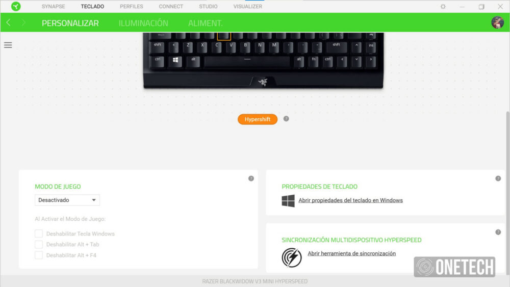 Razer BlackWidow V3 Mini HyperSpeed: teclado compacto e inalámbrico - Análisis 17