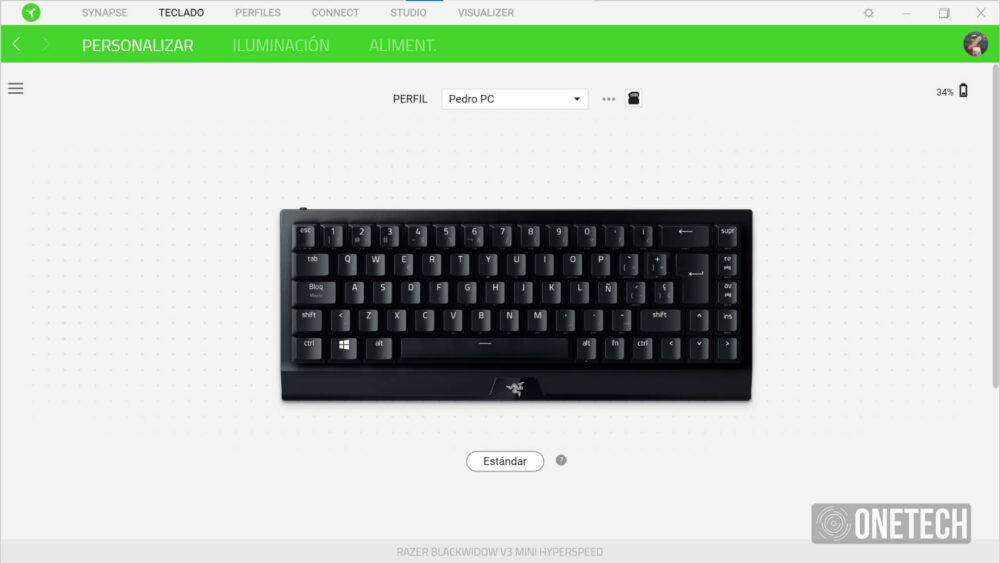 Razer BlackWidow V3 Mini HyperSpeed: teclado compacto e inalámbrico - Análisis 14