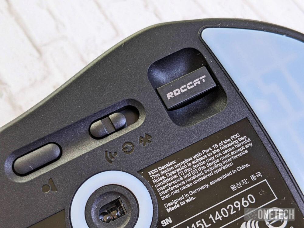 Roccat Kone Pro Air: un ratón gamer ligero y
