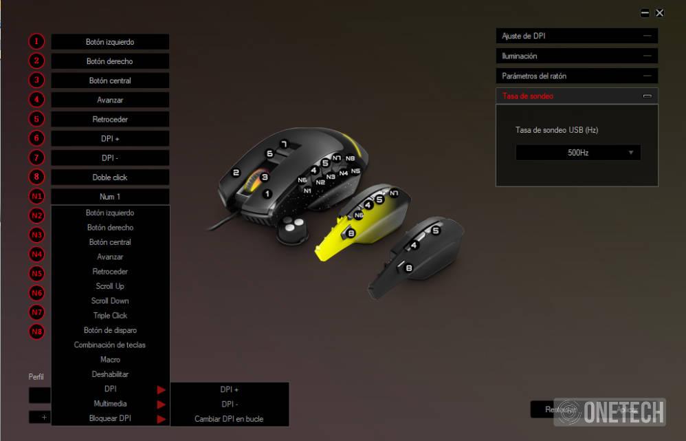 ESG M5 Triforce, el ratón gaming 3 en 1 de Energy Sistem 14