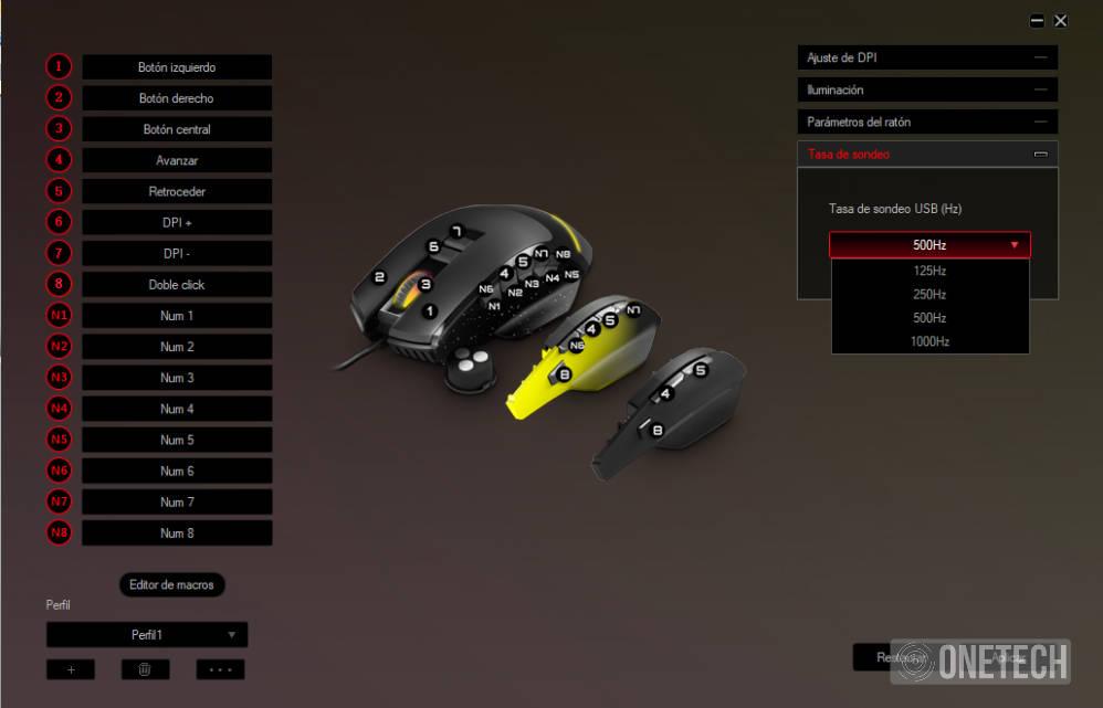 ESG M5 Triforce, el ratón gaming 3 en 1 de Energy Sistem 15