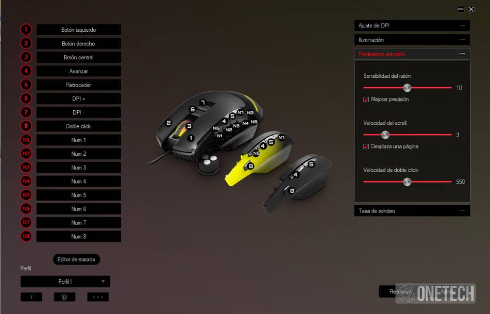 ESG M5 Triforce, el ratón gaming 3 en 1 de Energy Sistem 16