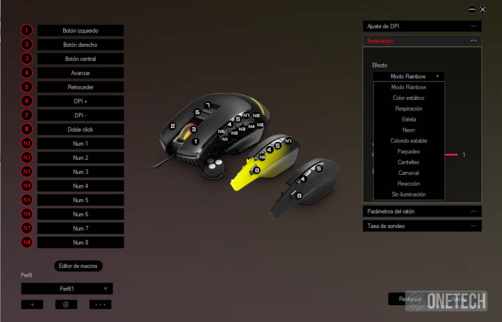 ESG M5 Triforce, el ratón gaming 3 en 1 de Energy Sistem 17