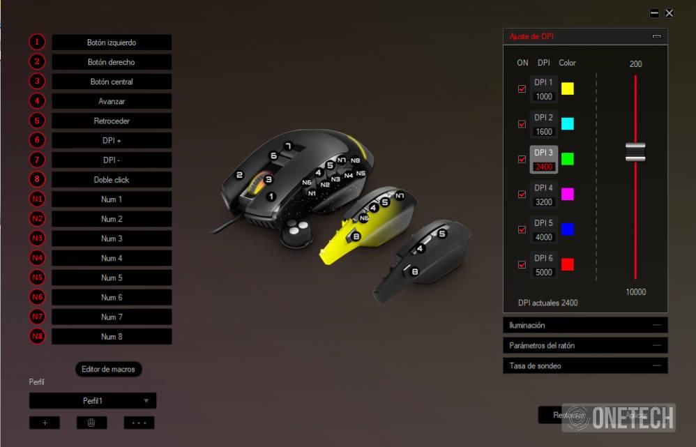 ESG M5 Triforce, el ratón gaming 3 en 1 de Energy Sistem 19