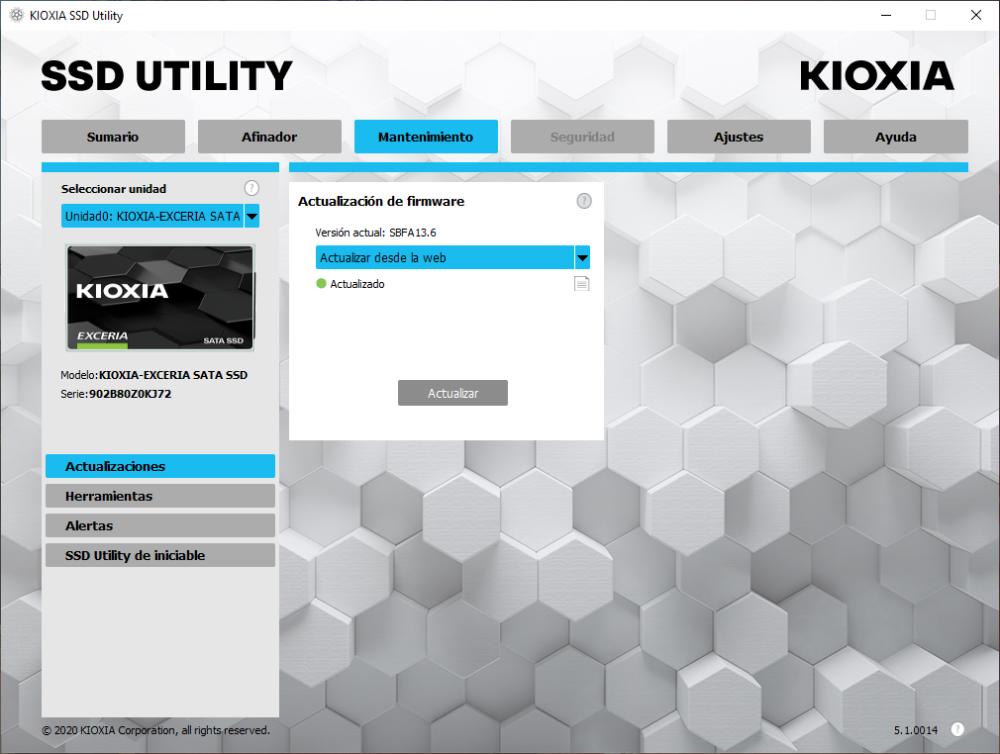 Kioxia Exceria SATA SSD 960 GB - Análisis 11
