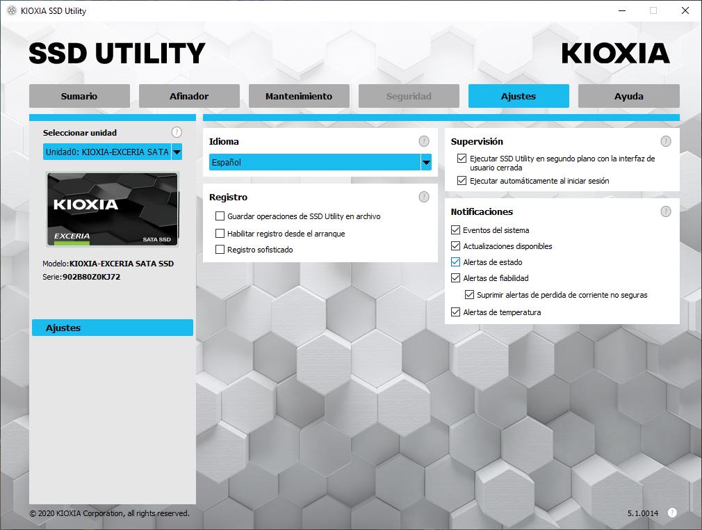 Kioxia Exceria SATA SSD 960 GB - Análisis 12