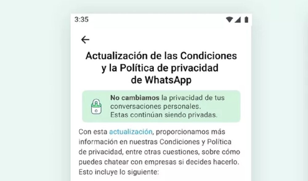Estas son las funciones de WhatsApp que perderás si no aceptas sus condiciones