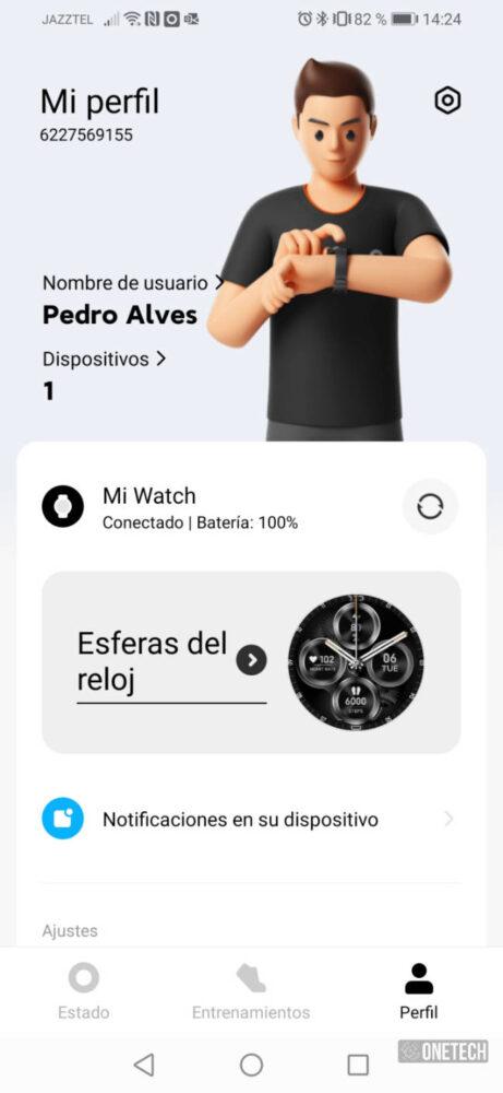 Xiaomi Mi Watch: un aspirante a mejor smartwatch económico - Análisis 19