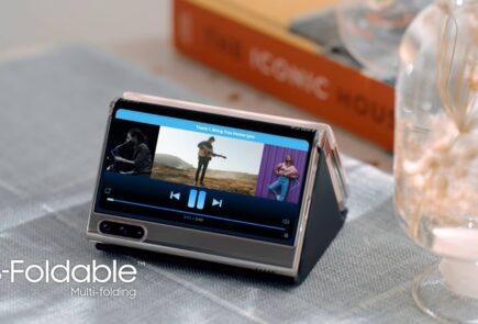 Smartphones con tres pantallas, enrollables y portátiles plegables. Así son los planes de futuro de Samsung 1