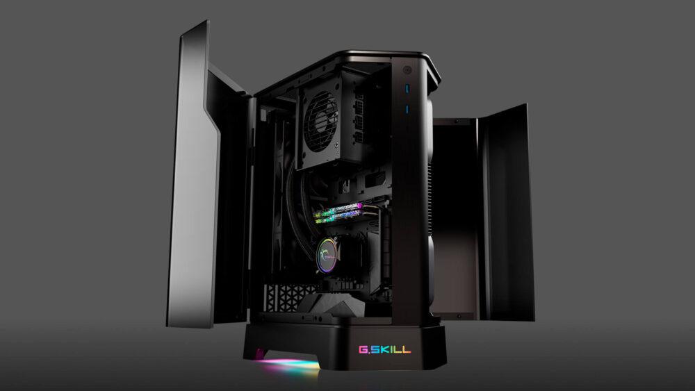 G.SKILL Z5i, nuevo chasis mini-ITX de alta gama con diseño en prisma 2