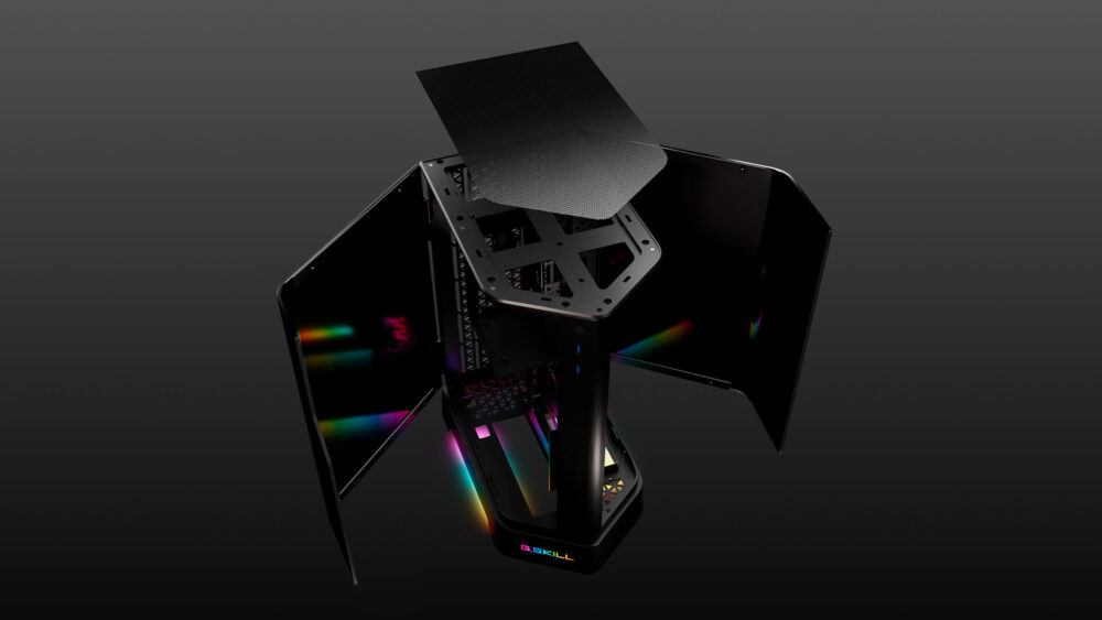 G.SKILL Z5i, nuevo chasis mini-ITX de alta gama con diseño en prisma 1