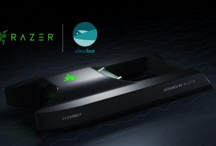 Razer se une a ClearBot en la construcción de robots para recuperar plásticos de los mares 1