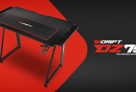 Drift DZ75, una mesa gaming con tablero con fibra de carbono por menos de 100 € 2