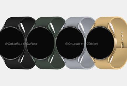 Primeros renders con el diseño del Samsung Galaxy Watch Active 4 2