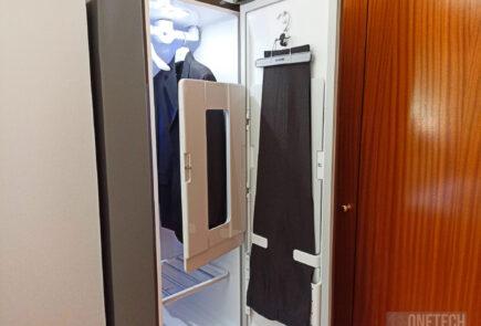 LG Vapor Cleaner Styler: tintorería e higienización en nuestra casa - Análisis 32