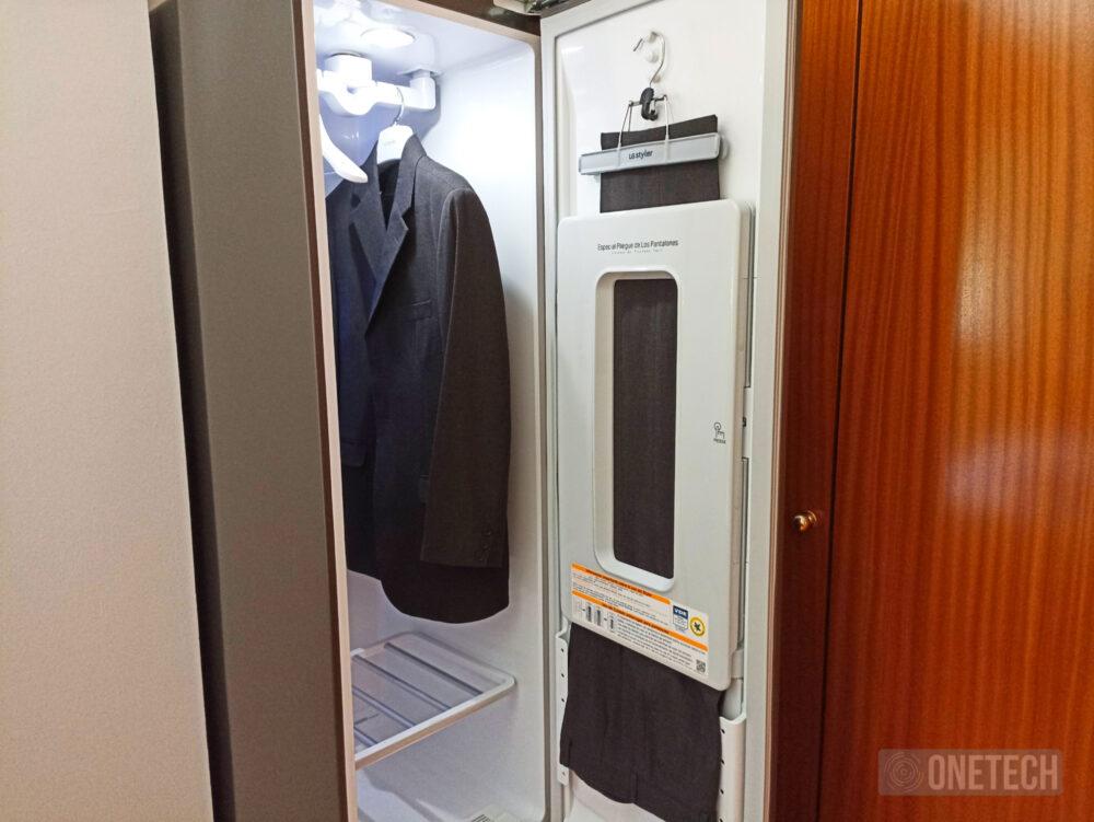 LG Vapor Cleaner Styler: tintorería e higienización en nuestra casa - Análisis 15
