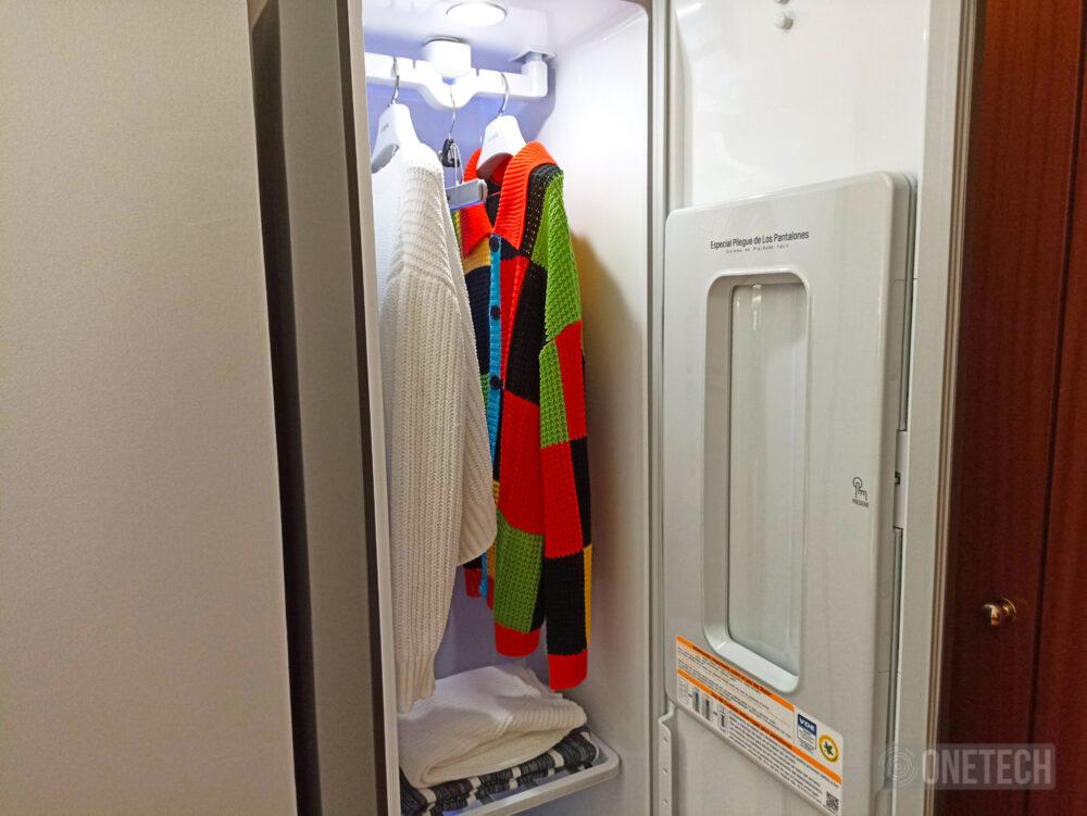 LG Vapor Cleaner Styler: tintorería e higienización en nuestra casa - Análisis 12