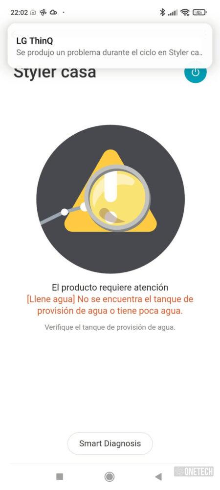 LG Vapor Cleaner Styler: tintorería e higienización en nuestra casa - Análisis 22