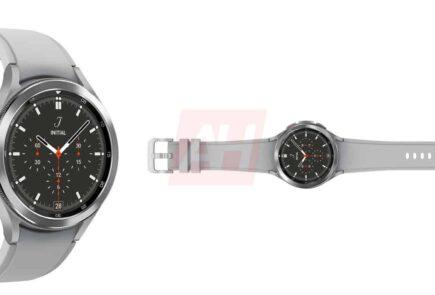 "El Samsung Galaxy Watch 4 ""Classic"" se muestra en renders 2"