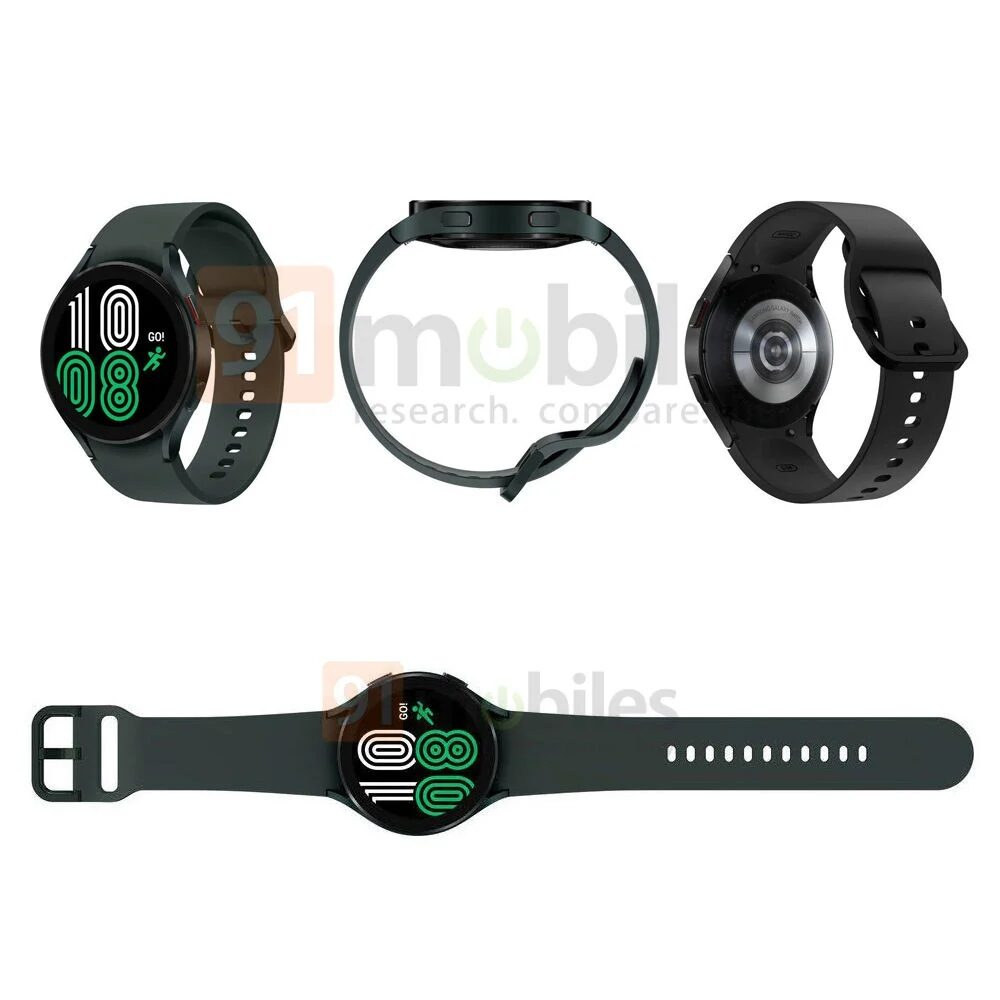 Samsung Galaxy Watch 4: Nuevas imágenes y especificaciones filtradas 2