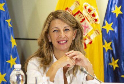 Ministerio de trabajo - Yolanda Diaz