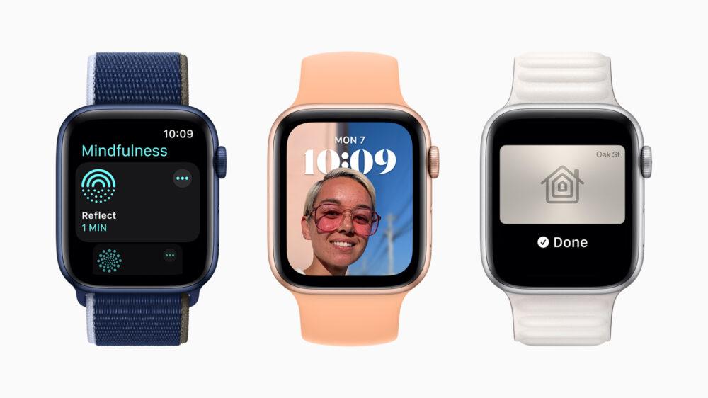 watchOS 8: todas las novedades anunciadas para los Apple Watch