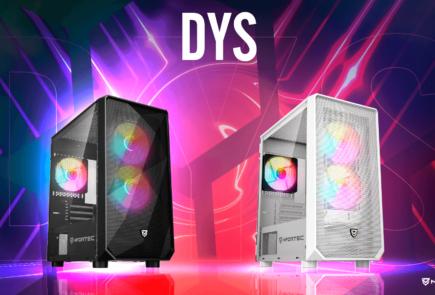 Nfortec DYS, nuevas cajas miniATX con frontal mallado 3